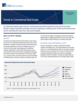 Investing in commercial real estate understanding non trade trends in commercial real estate pronofoot35fo Images